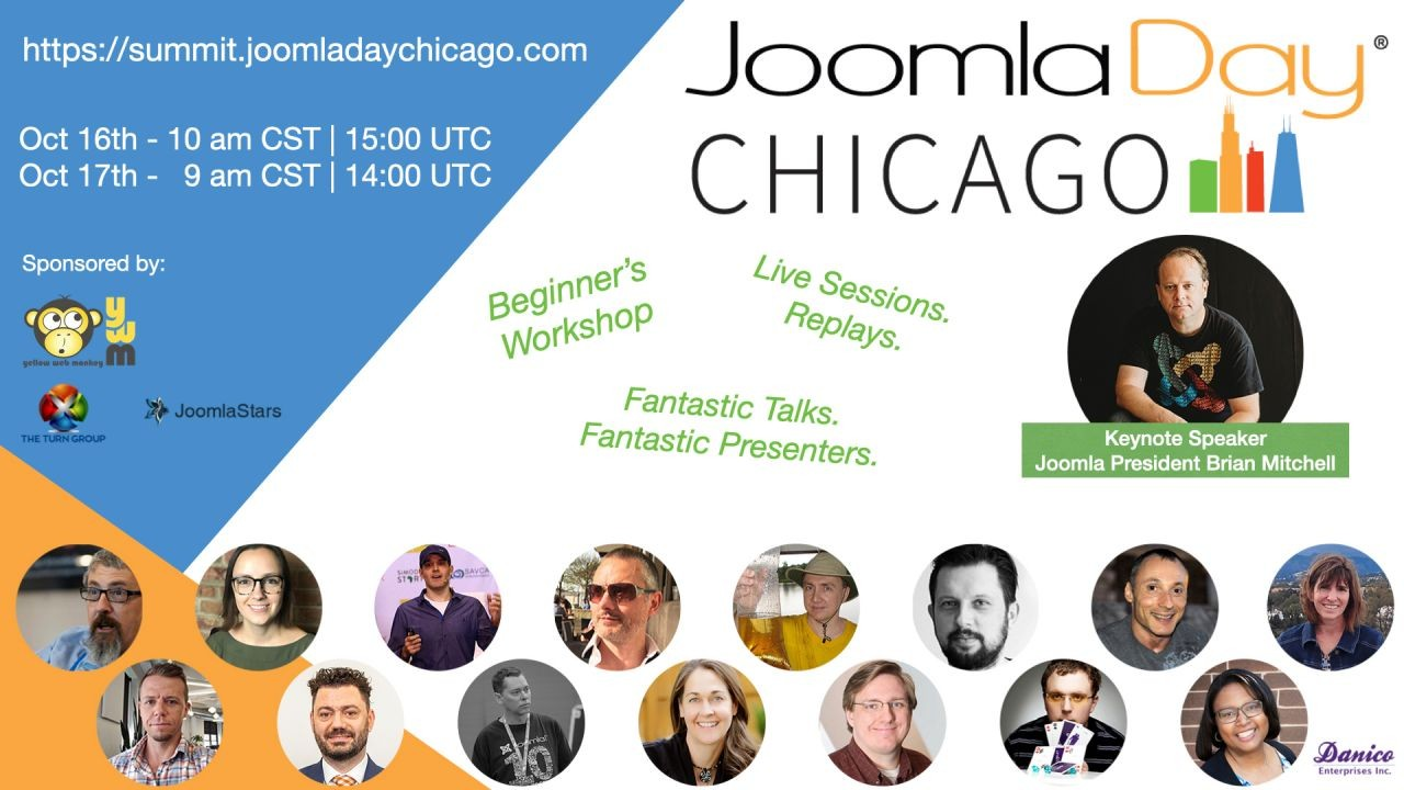 One Week to JoomlaDay Chicago 2020