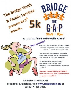 Enjoy a walk with friends to help local kids
